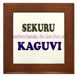 Kaguvi Framed Tile