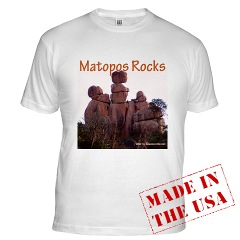 Matopos Rocks - Three Sisters - tshirt