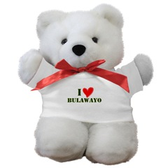 I LOVE BULAWAYO Teddy Bear