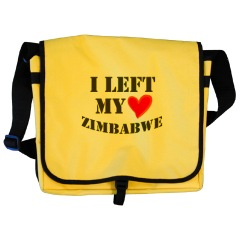 I Left My Heart In Zimbabwe Bag